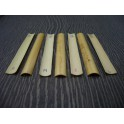 Gouged canes for oboe